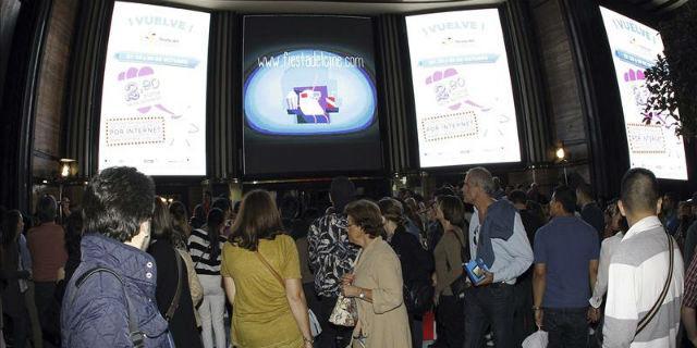 La VII Fiesta del Cine bate récords de asistencia en su primer día