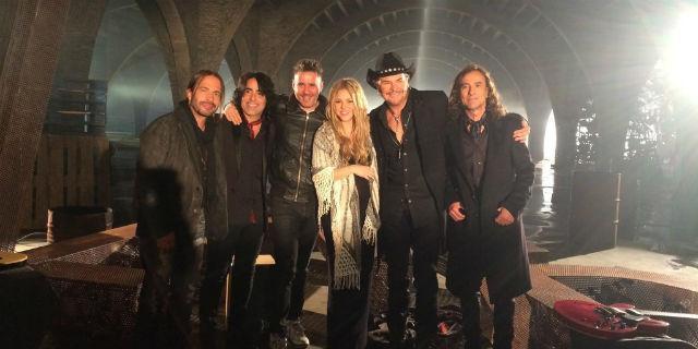 Maná y Shakira, juntos en un nuevo single