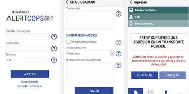 'Alertcops' ya funciona en doce comunidades
