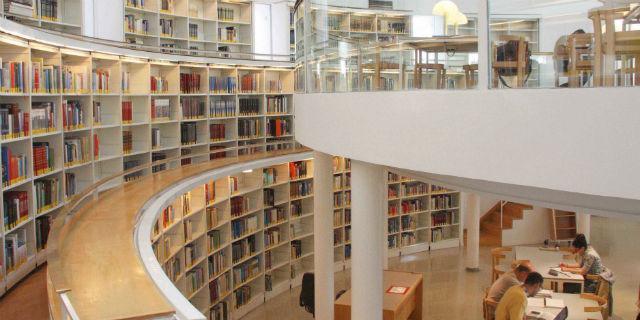 Resultado de imagen de biblioteca madrid