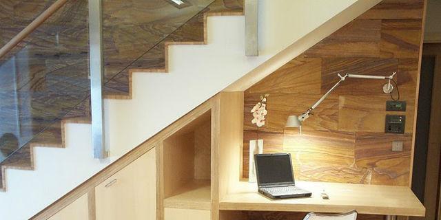 Cómo aprovechar los huecos de las escaleras