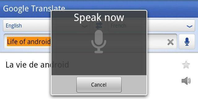Google Translate permitirá la traducción automática de voz a texto en tiempo real