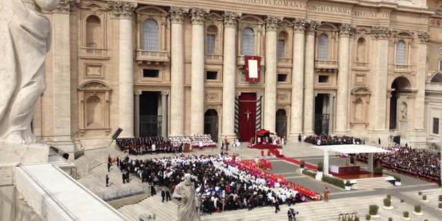 Crece el número de católicos bautizados un 12% en ocho años