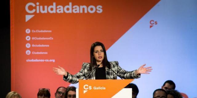 Acto de campaña de Arrimadas para las primarias de Cs el domingo en Madrid