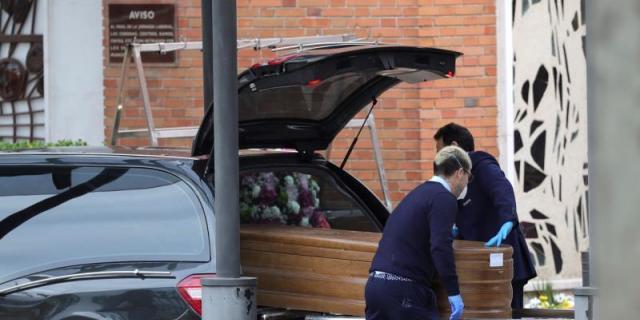 """Los servicios funerarios de Madrid continúan """"sobrepasados"""""""