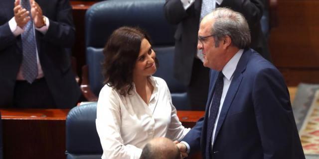 """Díaz Ayuso expresa su deseo de seguir manteniendo un """"diálogo fluido"""" con Gabilondo ante la crisis"""