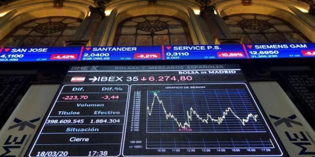 La Bolsa española pierde los 7.000 puntos tras bajar el 1,28%