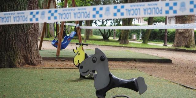 Móstoles revisa los precintos de áreas infantiles, que se mantendrán cerradas