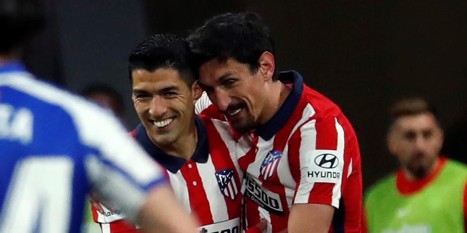 1-0. Oblak y Suárez sostienen al líder
