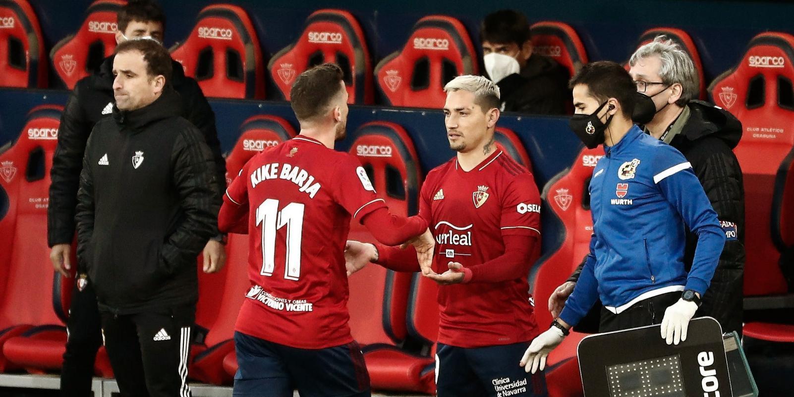 0-0. Osasuna y Getafe empatan en el regreso del Chimy Ávila