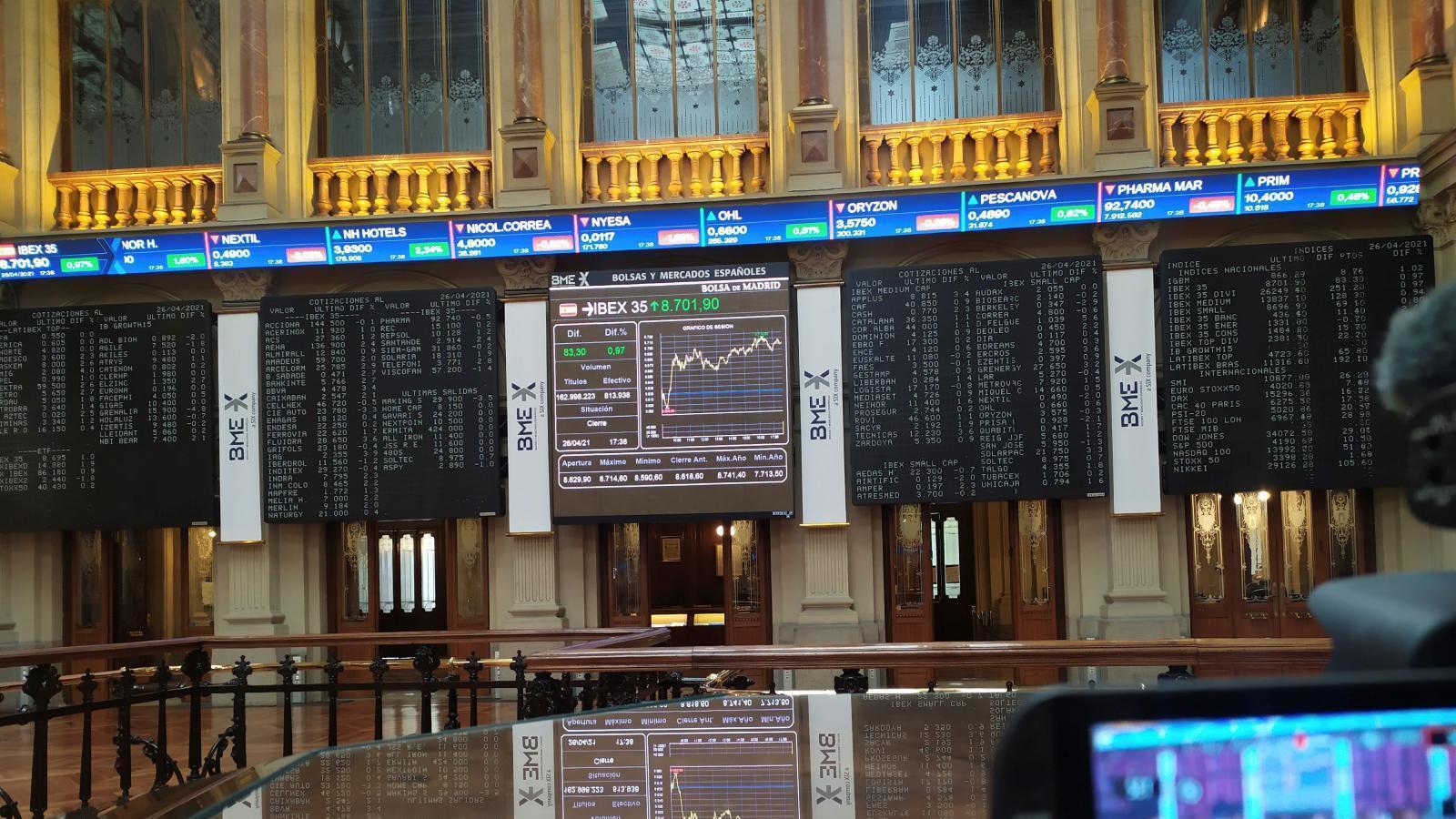 El IBEX tendrá este jueves 36 valores por la salida a bolsa de Línea Directa