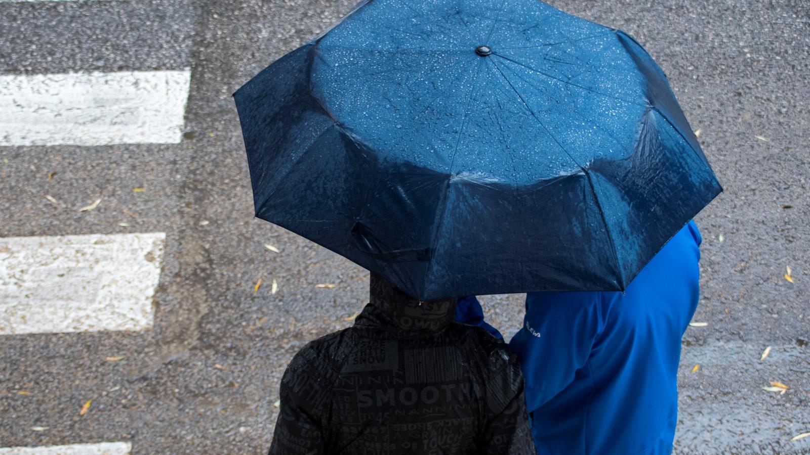 Toda la Comunidad, en aviso amarillo por tormentas y lluvias hasta las 16.00h