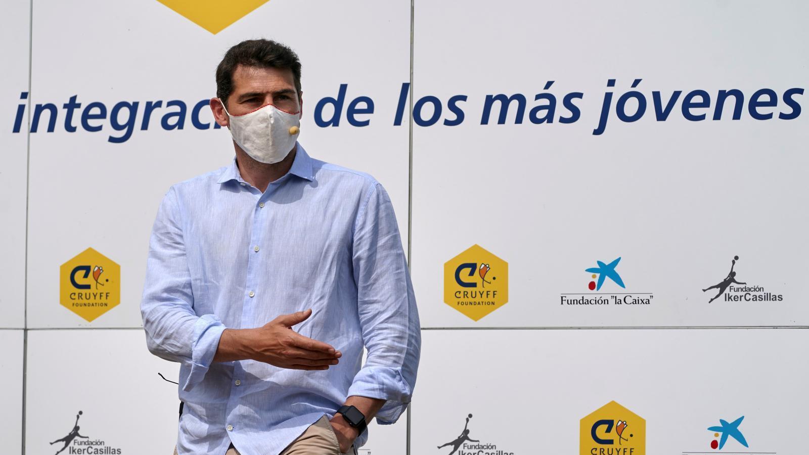 Iker Casillas es partidario de que Sergio Ramos siga en el Real Madrid