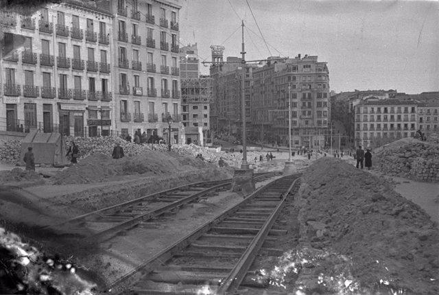 La exposición '150 años del primer tranvía en Madrid' recorre la historia de este medio de transporte desde 1871