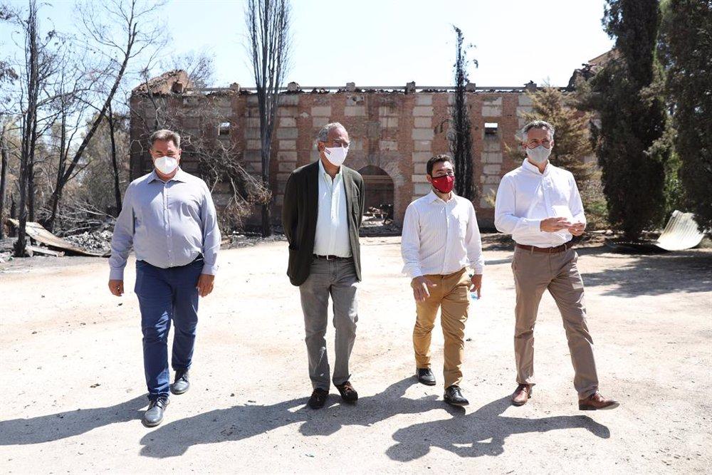 La Comunidad apoya la petición de Batres de declarar el municipio zona catastrófica
