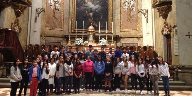 La Schola Cantorum ofrece su primer recital en la Basílica de San Miguel