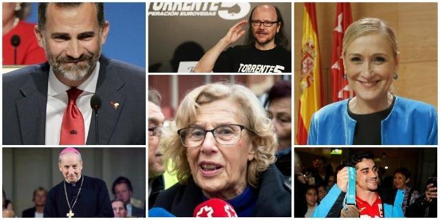 ¿Quién es para ti el Madrileño del Año 2019?: Primera vuelta cerrada
